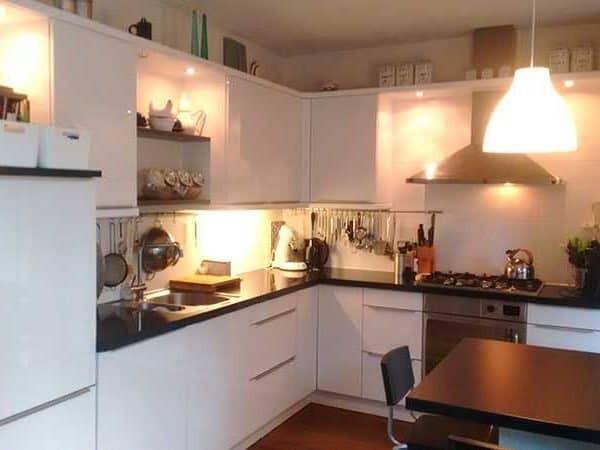 Nieuwe keuken Liesbeth Geenen