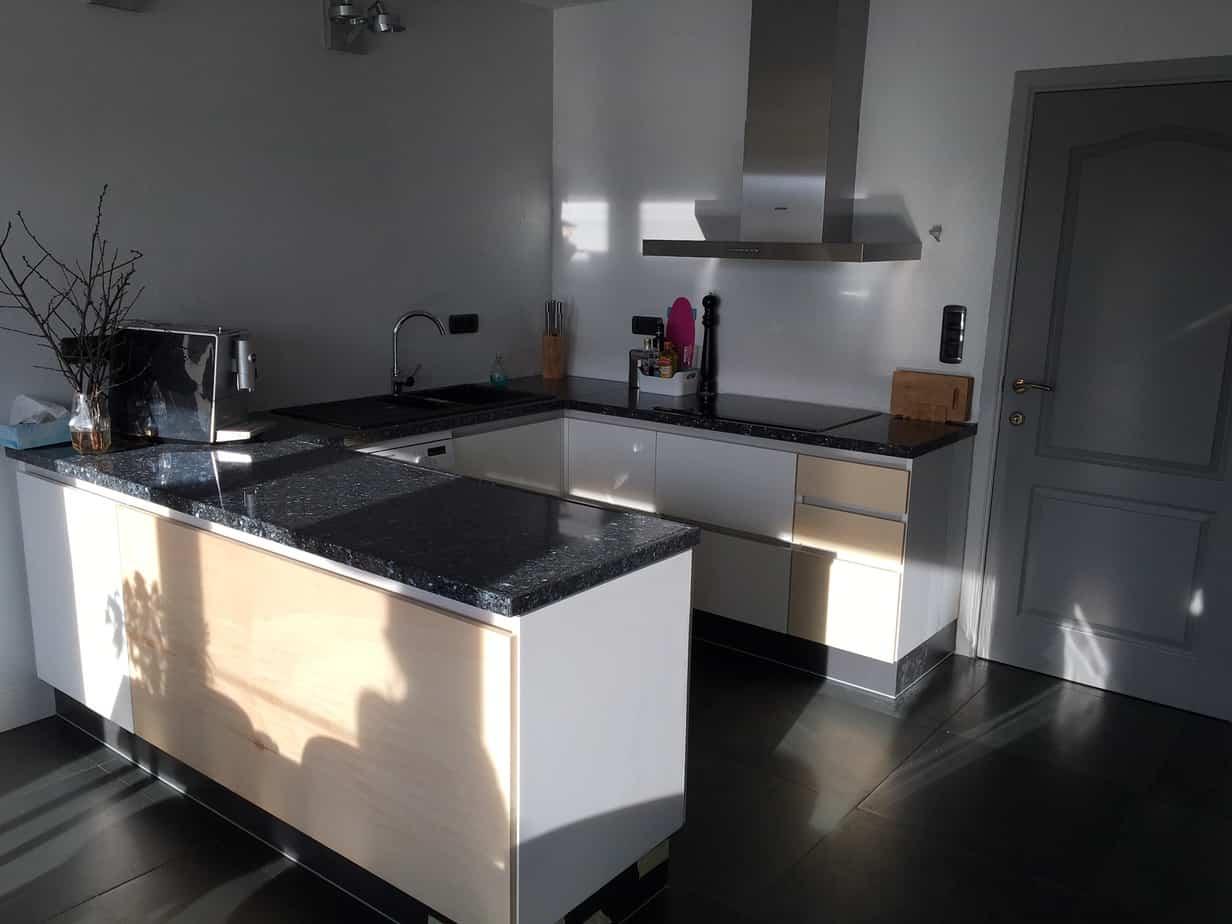 De Nieuwe Keuken Van Familie Van Orten
