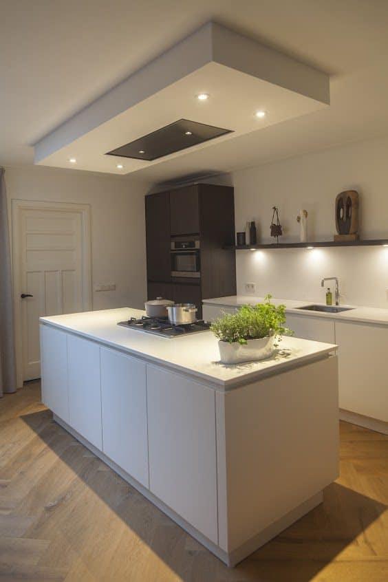De nieuwe keuken een nieuwe keuken kies blauw hierbij een foto van de u nieuweu keuken - D co keuken ...