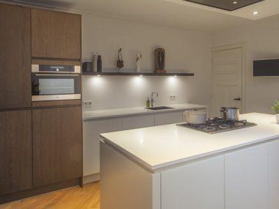 Een Op Maat Gemaakte Nieuwe Keuken