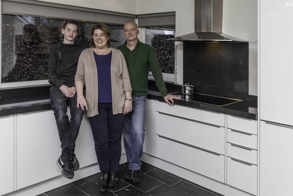 De Familie Kuunders In De Nieuwe Keuken