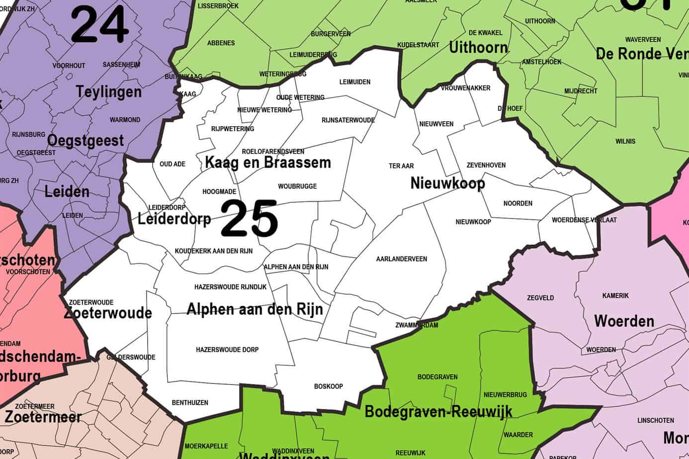 Regio 25 - Alphen aan den Rijn