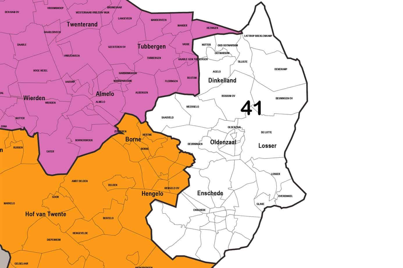 Regio 41 - Enschede - Oldenzaal