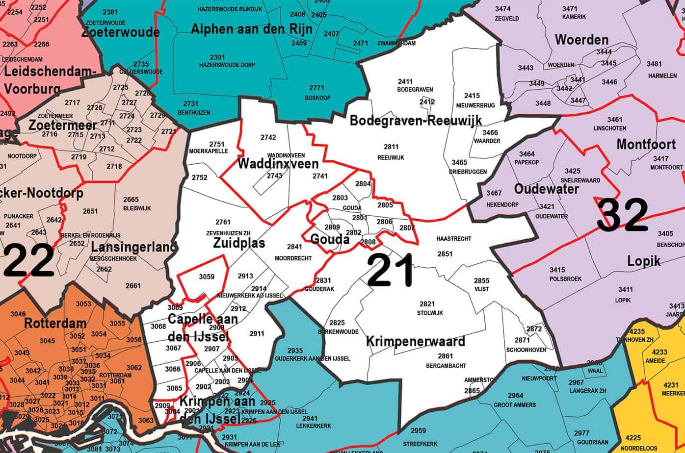 Regio 21 - Gouda