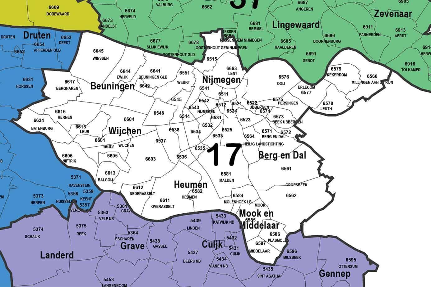 Regio 17 - Nijmegen