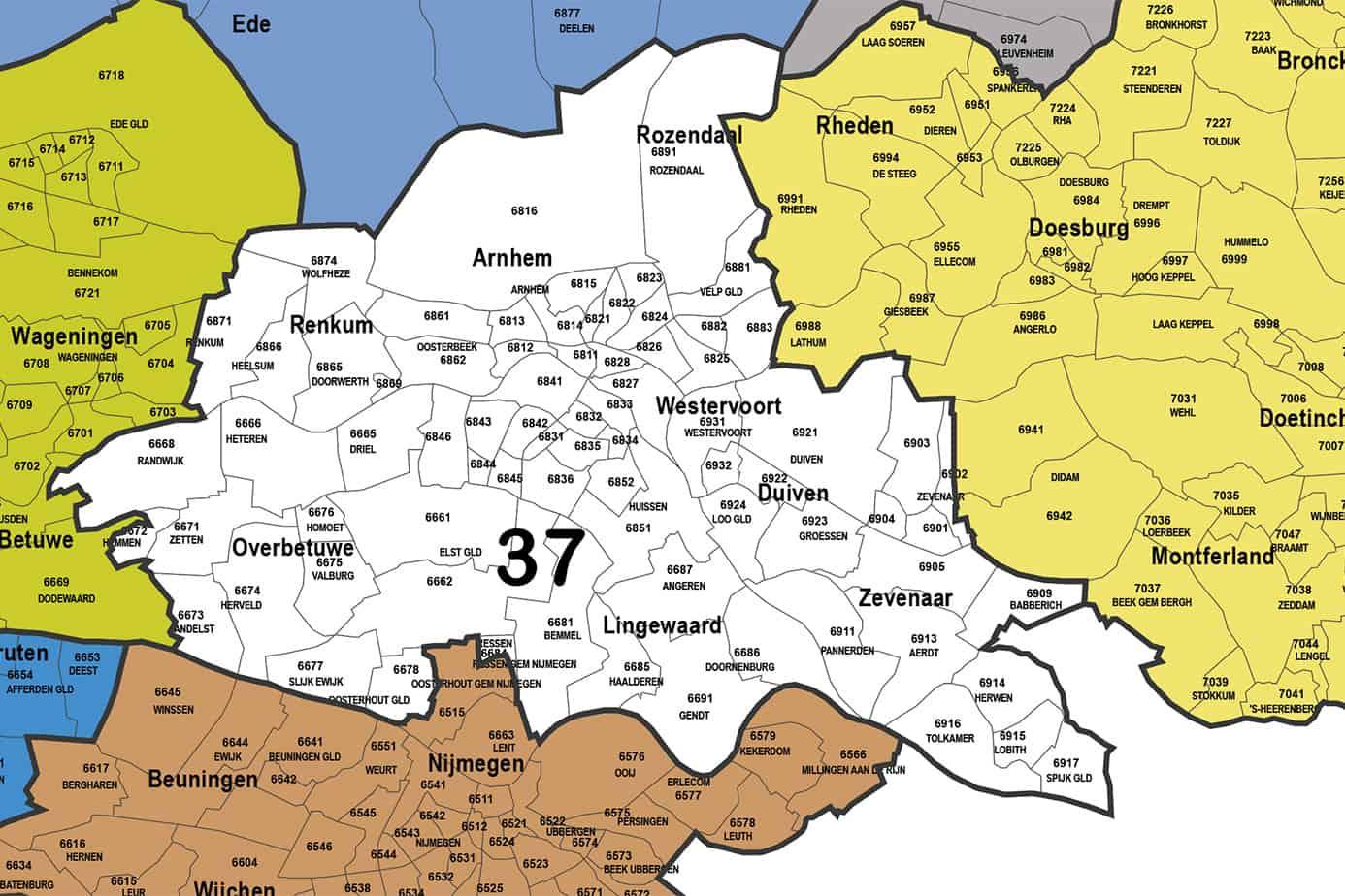 Regio 37 - Arnhem