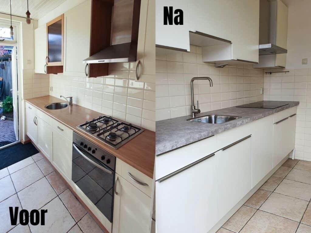 Voor en na renovatie